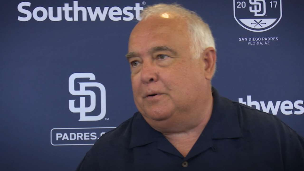 Fowler certain Padres are on the rise