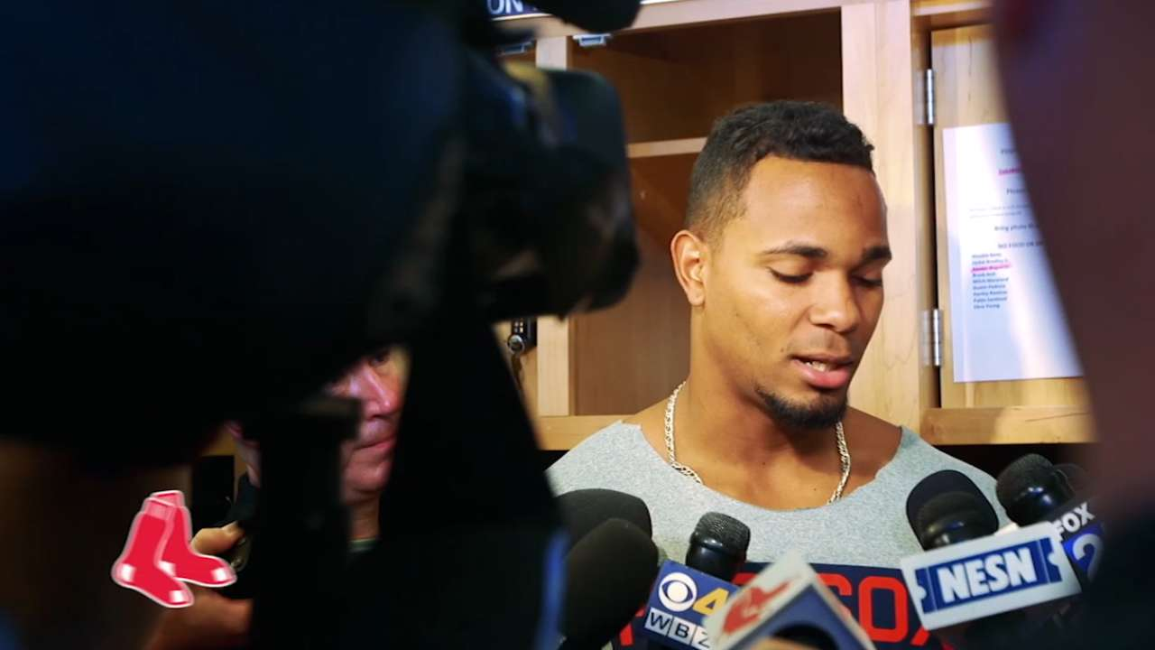 Bogaerts aims to improve in ?17