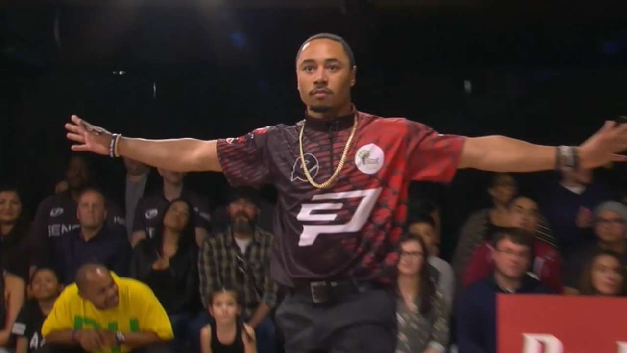 Mookie Betts walked off a bowling game with a strike