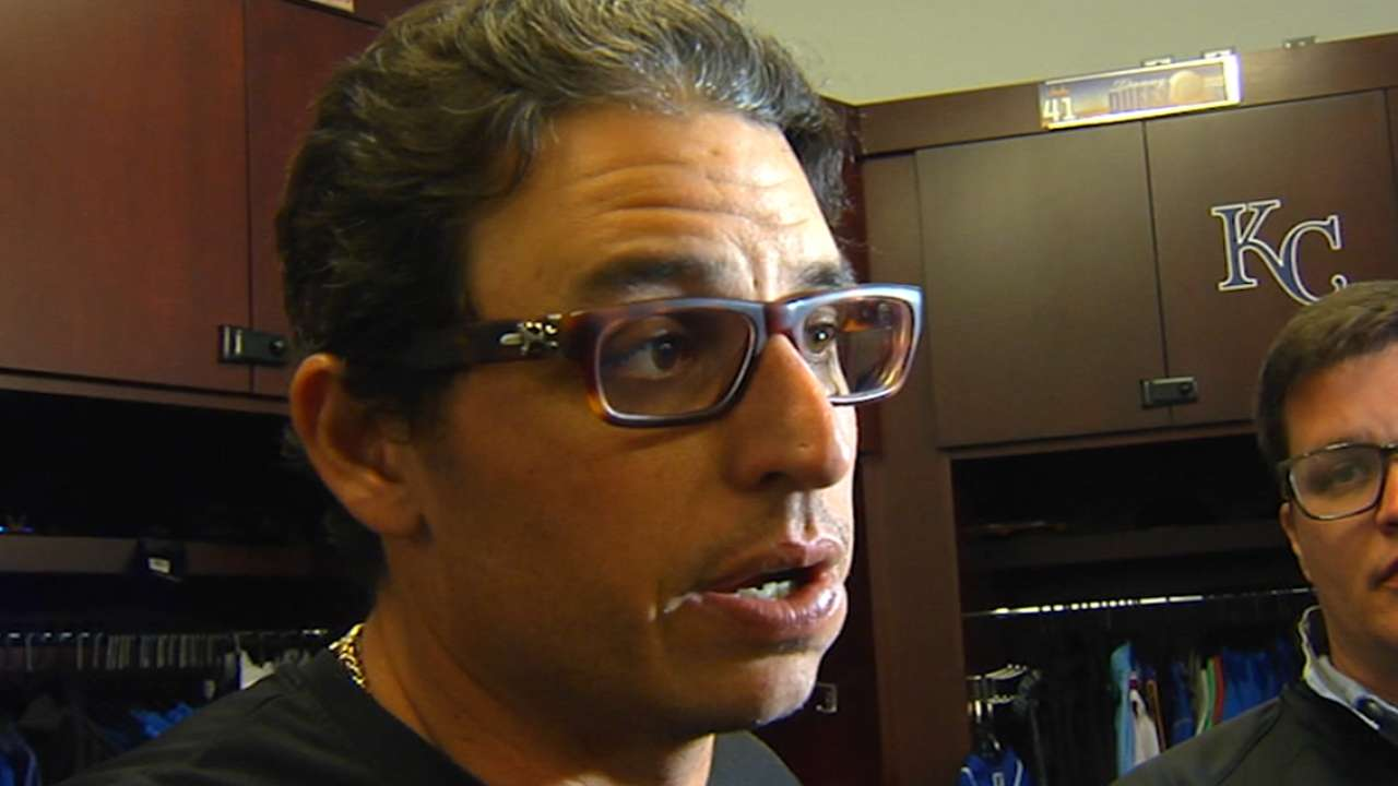 Vargas on Royals' new-look staff