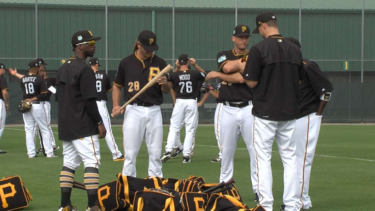 Pirates on early expectations