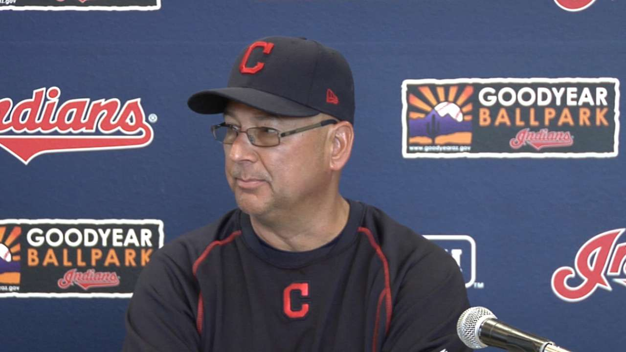 Kipnis on board with Francona's '17 message