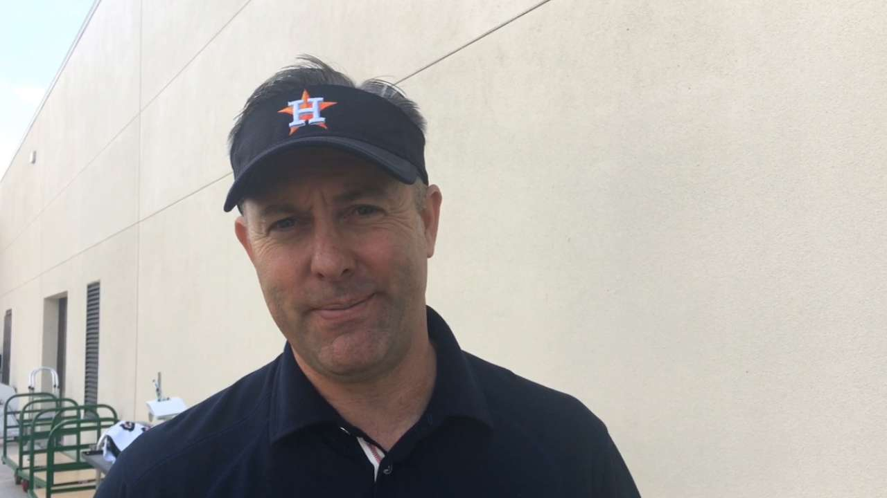 Ryan: Astros ready to 'earn it' on field every day