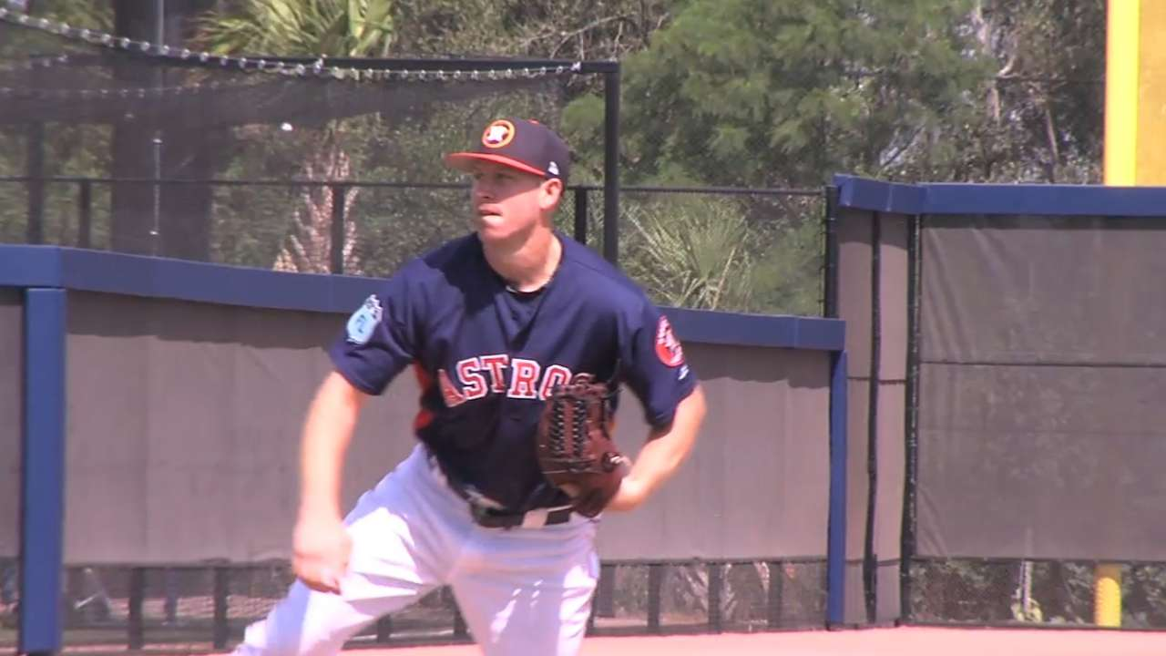 Hinch shares pitching plan for first 5 games