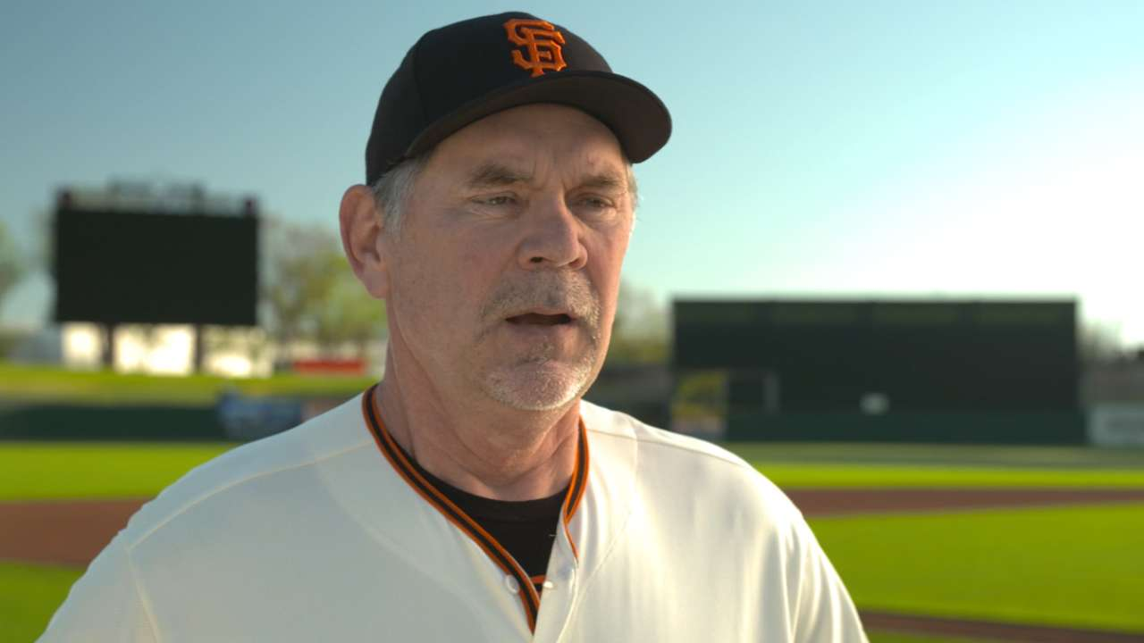 Bochy, Melancon on Giants' 'pen