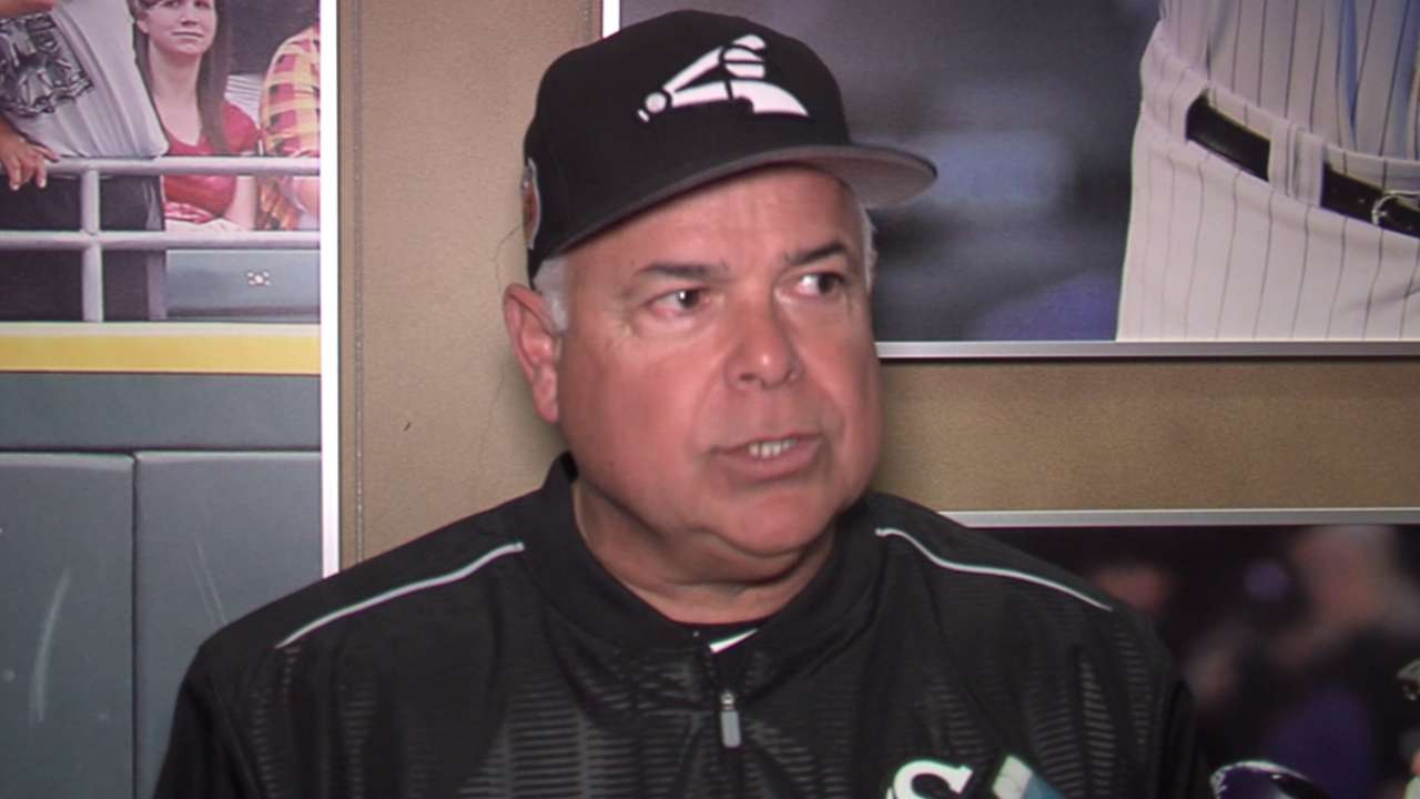 Renteria on opening workouts