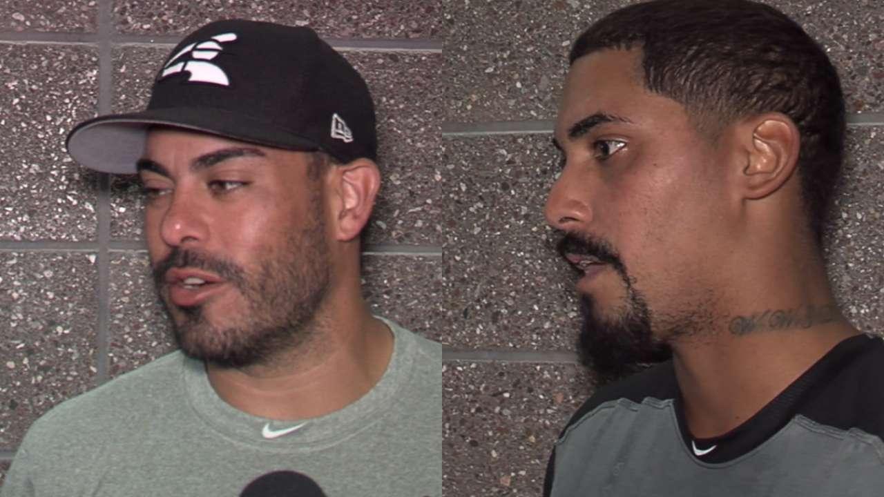 Giovanni y Geovany Soto fueron batería en entrenamientos de White Sox