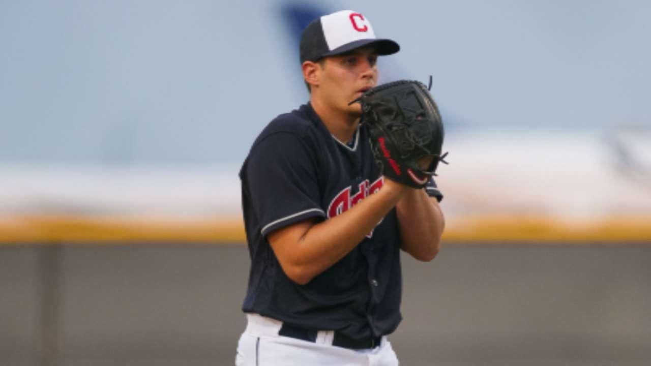 Q&A with Indians prospect Brady Aiken