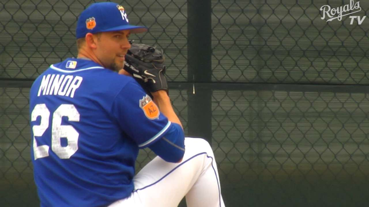 Minor relishes scoreless spring appearance