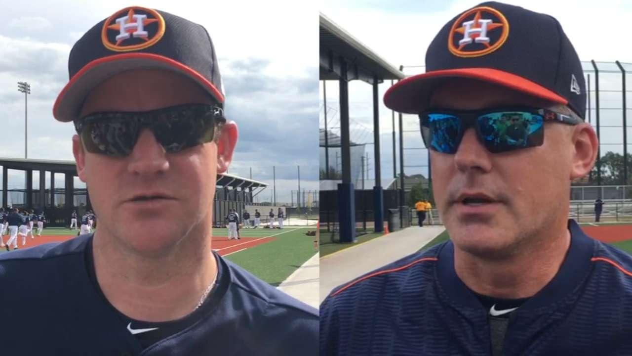 Oswalt preaches durability to Astros pitchers