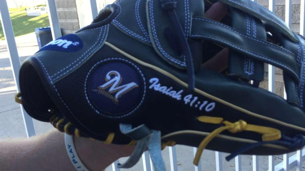 Phillips receives new glove