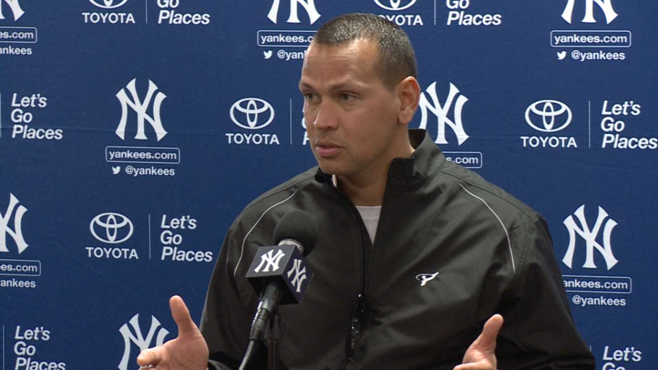Same pinstripes, new role for 'grateful' A-Rod
