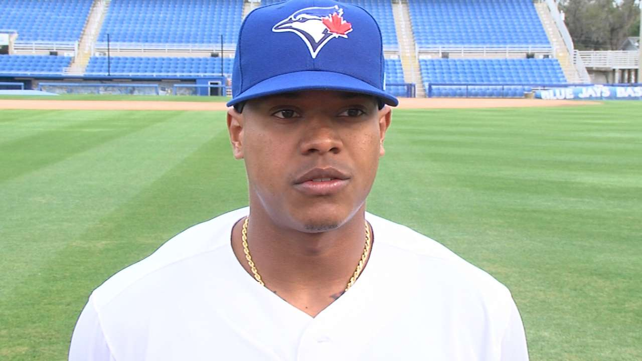 Stroman expecting a dominant year on mound