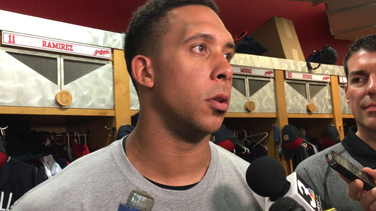 Brantley optimistic about recovery process