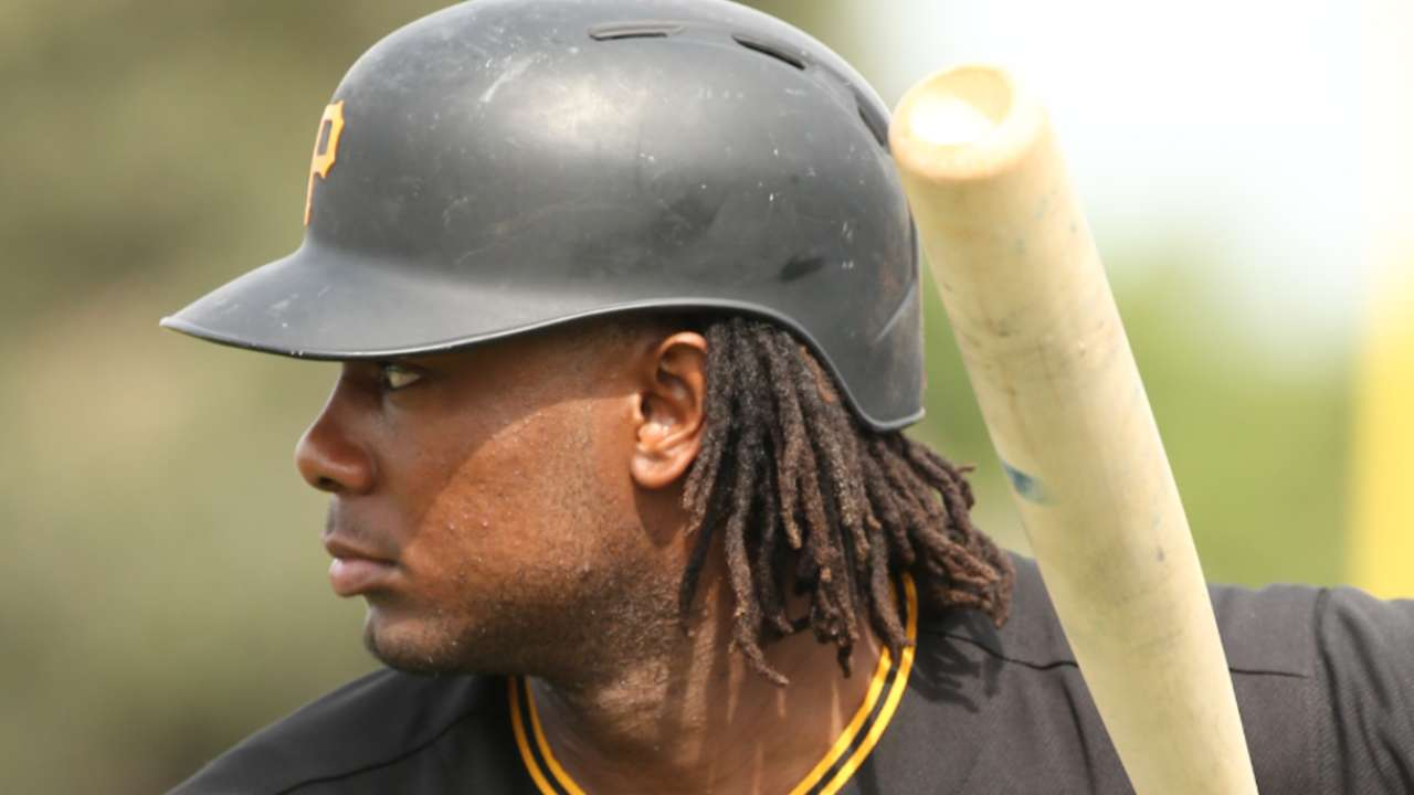 Hurdle on Josh Bell in camp