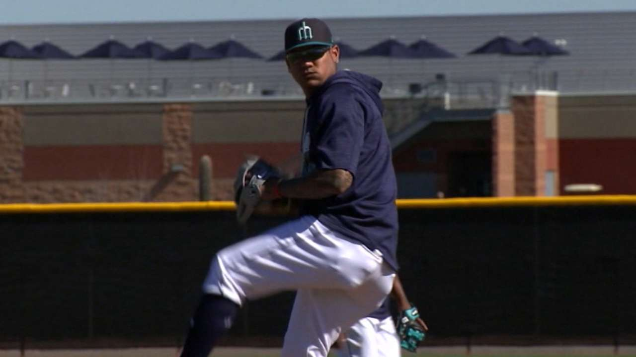 King Felix preparing for 2017