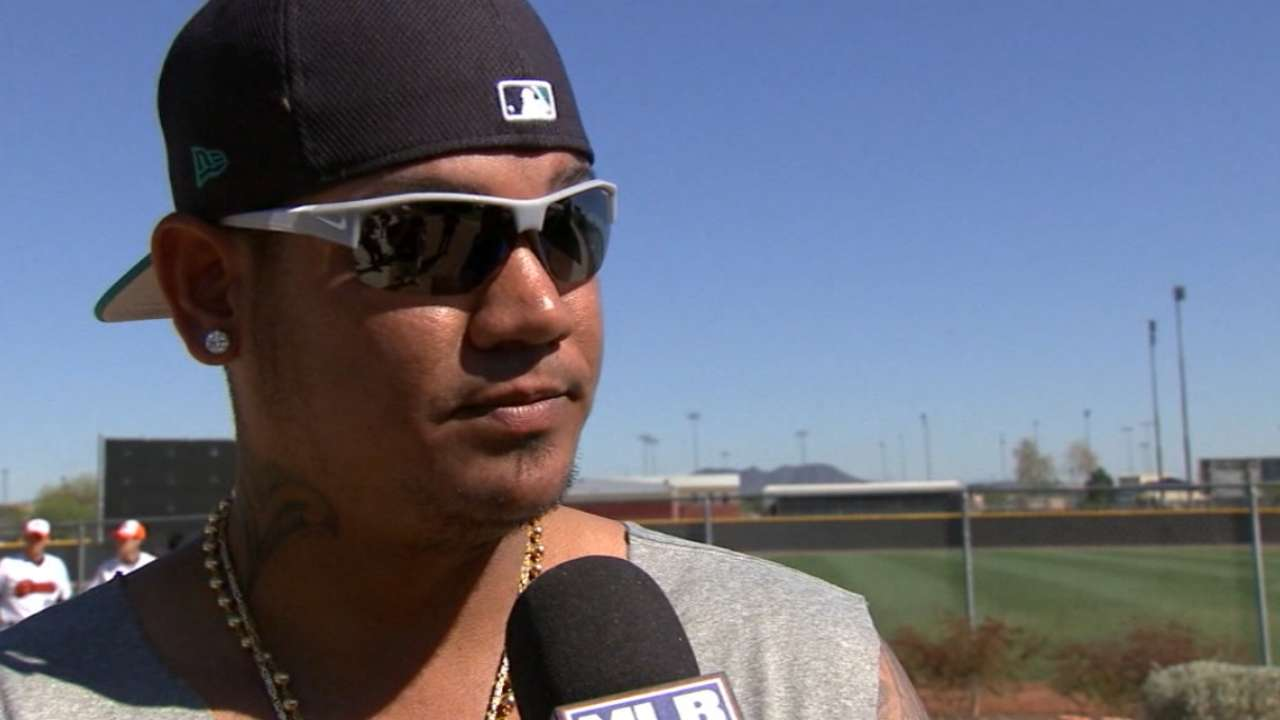 Felix on Mariners' talented team