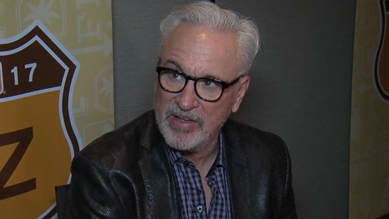 Maddon on fans, spring 2017
