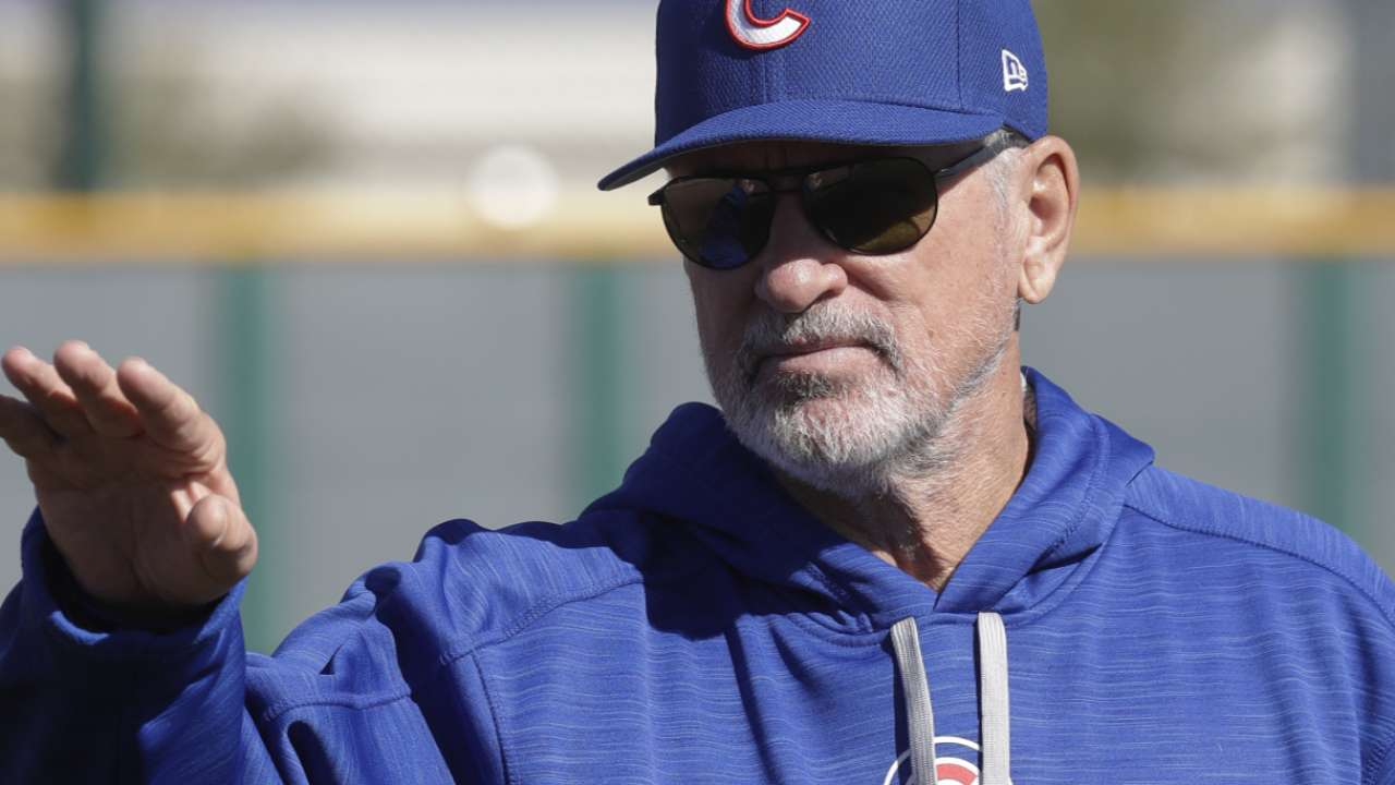 Cubs reveal rotation for first 4 spring games