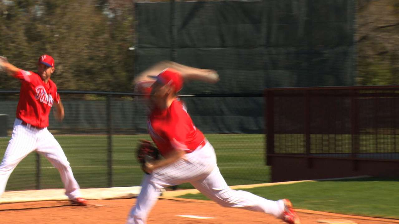 Mackanin, Asher on first game