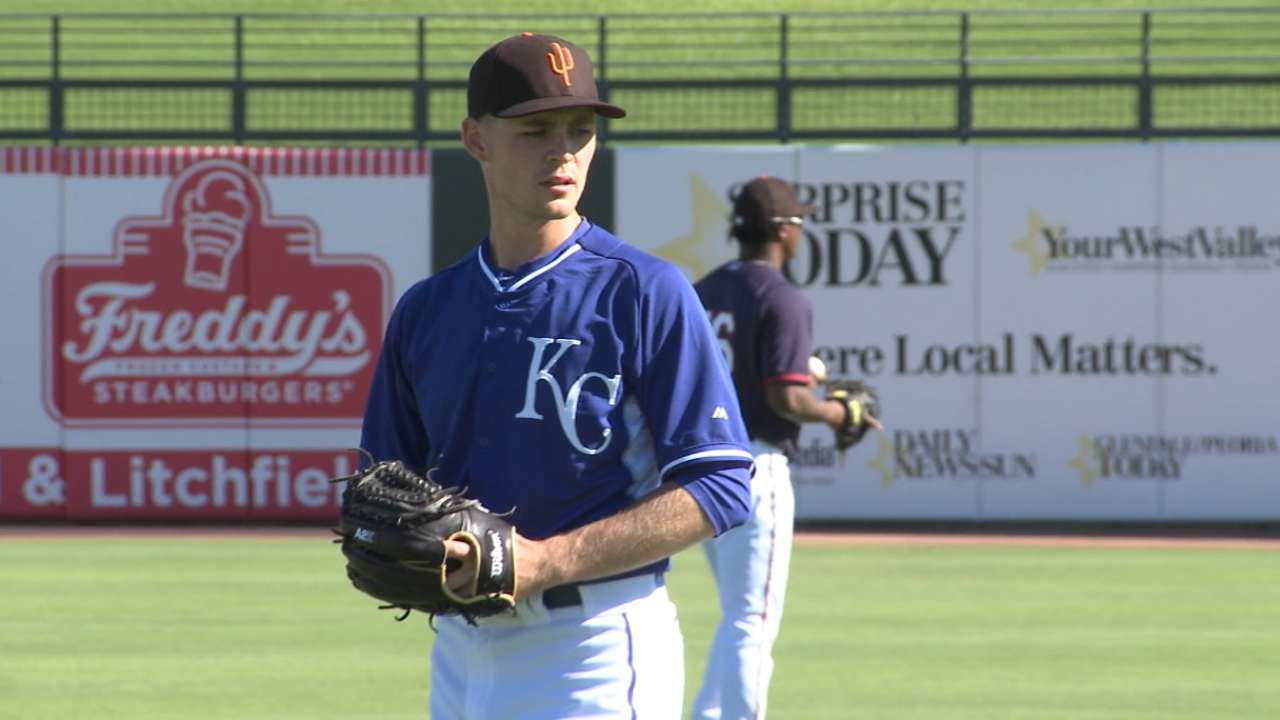 KC will hand Staumont ball for Cactus opener