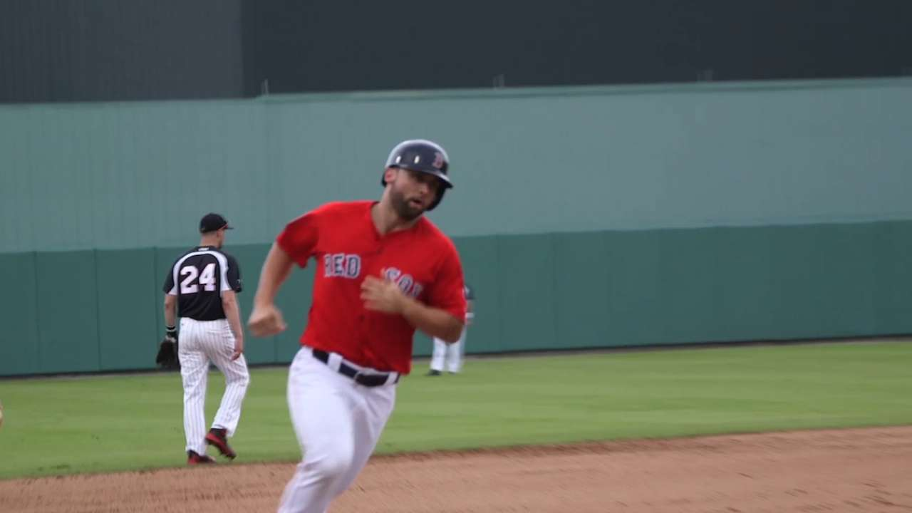 Healthy Travis homers for Sox