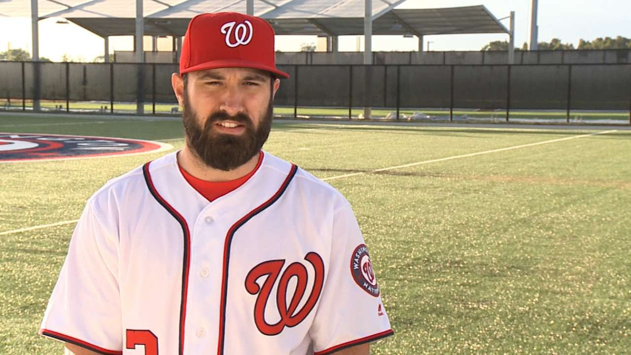Eaton on joining talented Nats