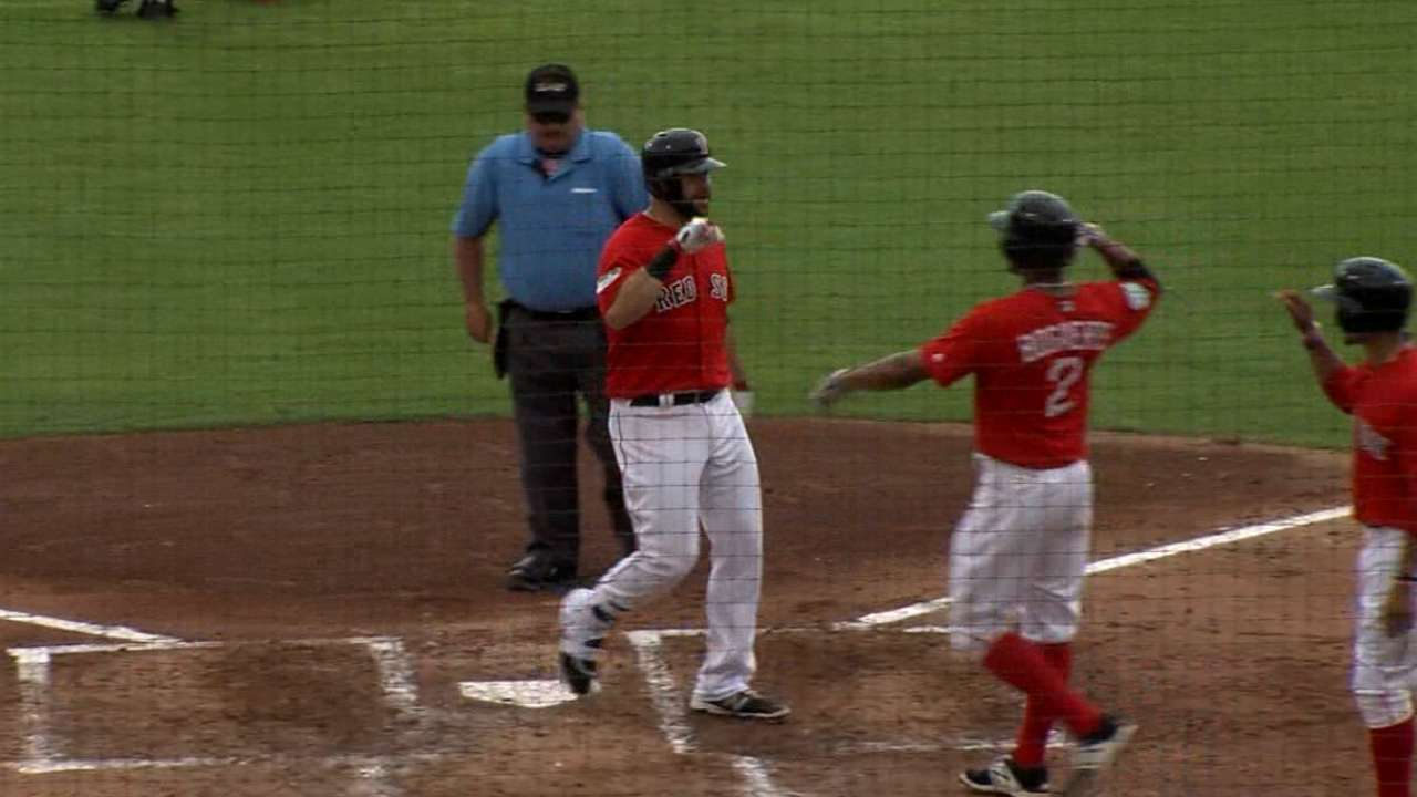 Moreland's three-run home run