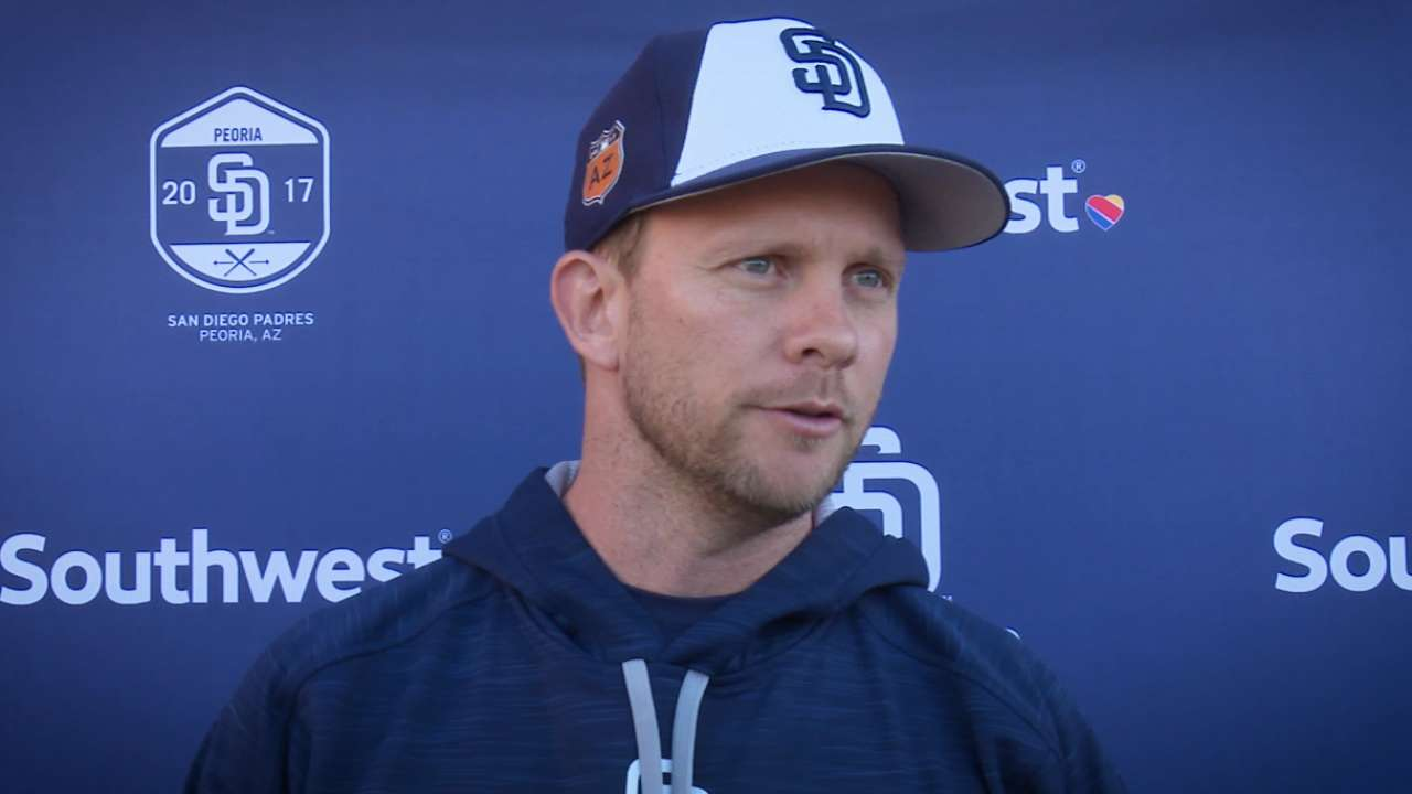 Padres sticking with basics in Cactus opener