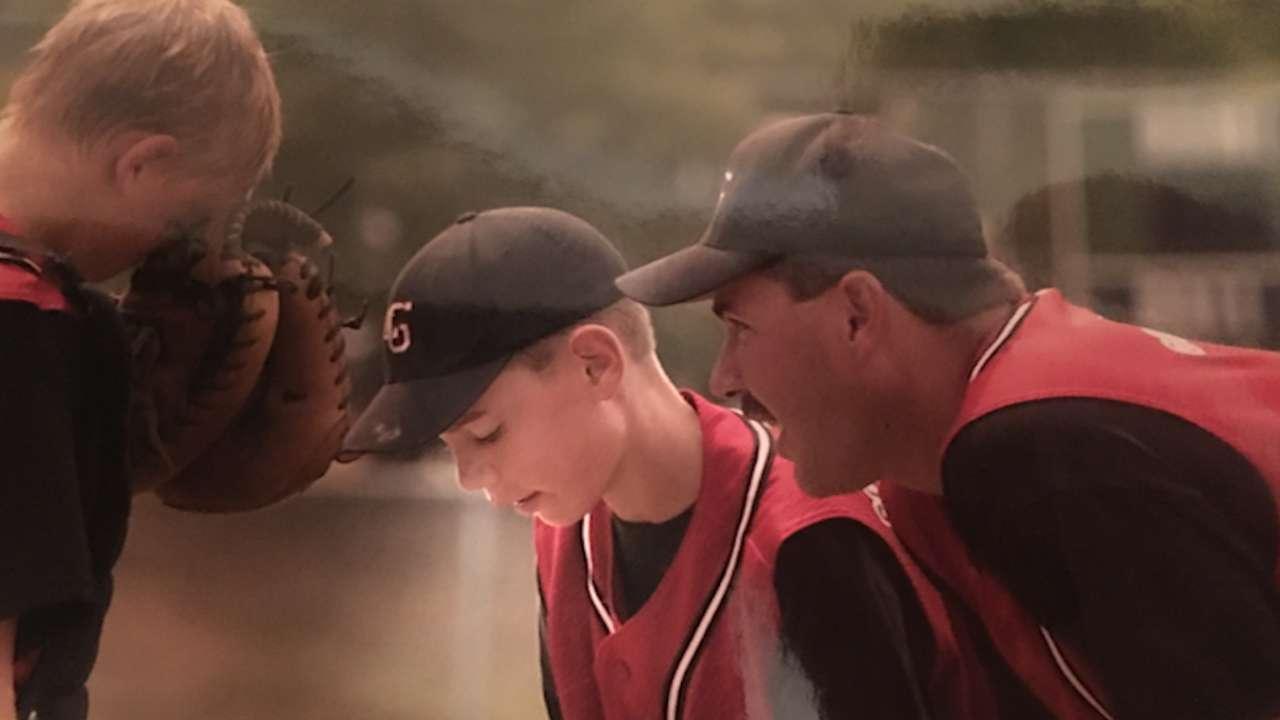 Boyhood friendship spills over to Majors