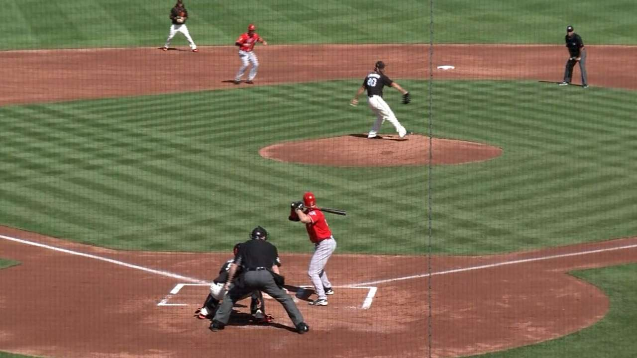 Bumgarner finishes the 1st