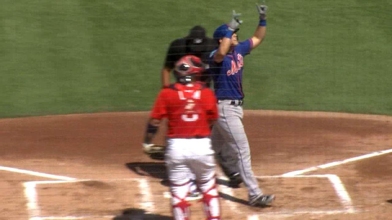 Cecchini, Conforto HRs back sharp Lugo, Mets