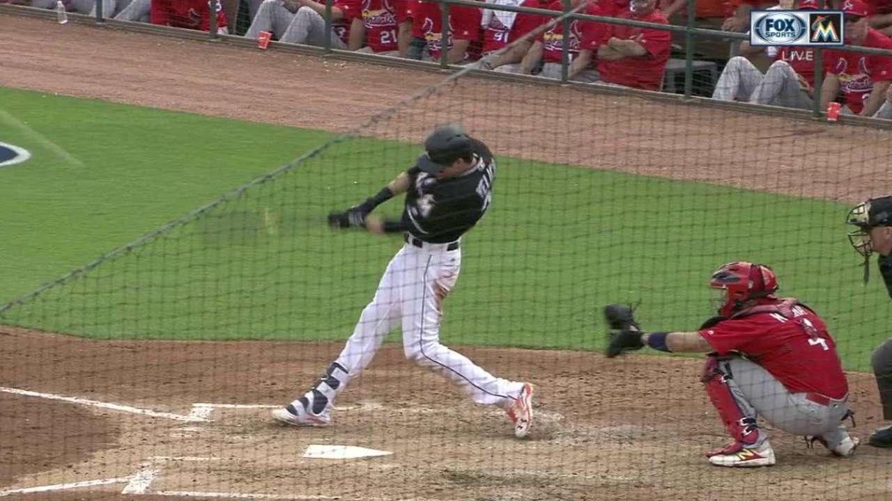 Yelich's two-run home run