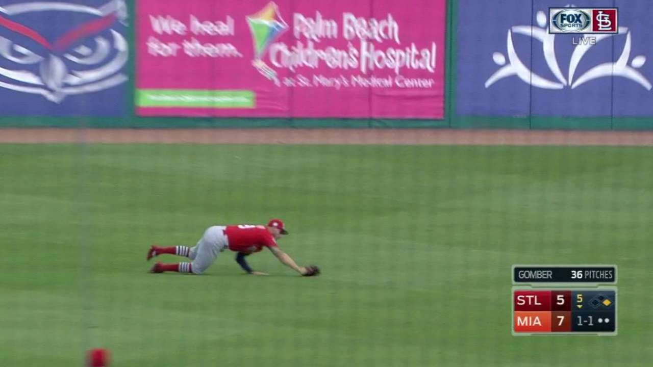 Schafer's diving play