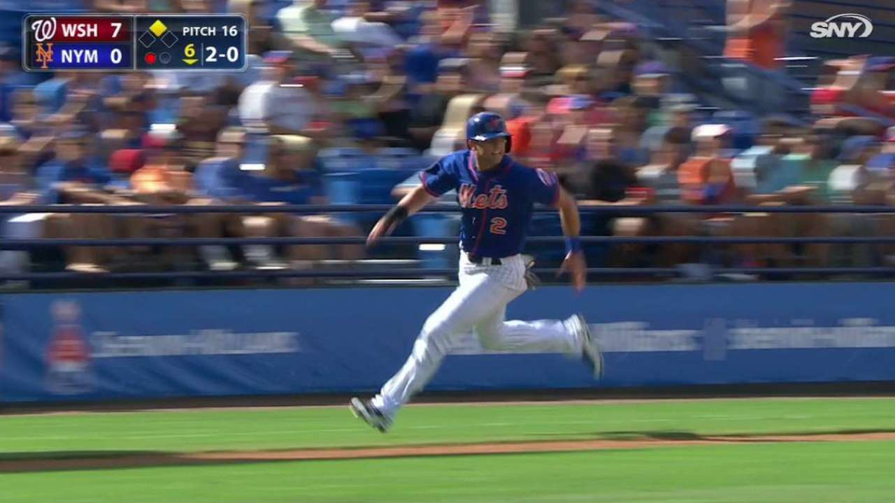 Conforto stays hot, but Nats' HRs tag Mets