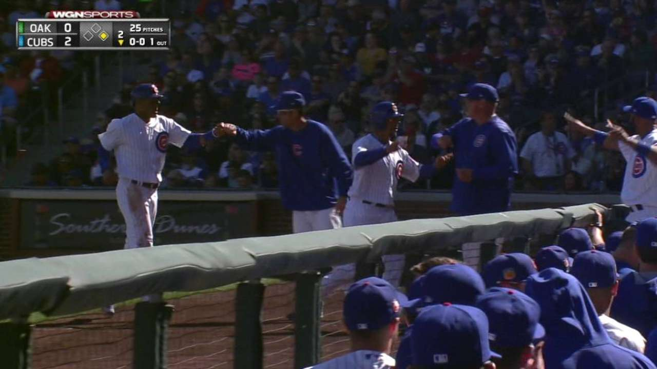 Cubs celebrate with Cactus home-opening win