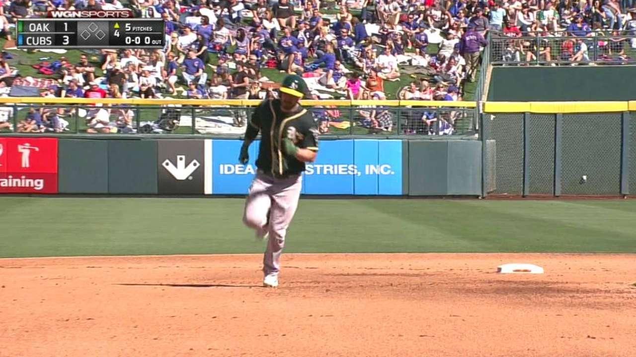 Joyce's solo home run