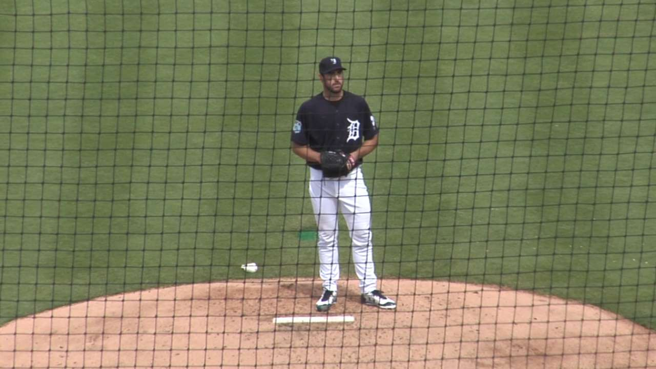 Verlander wastes no time getting into form