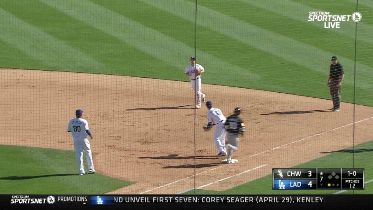 Collins, Moncada make Sox debuts in Cactus opener