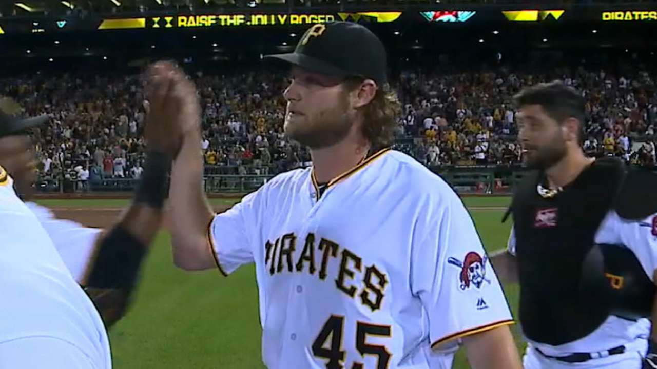 Cole gets Pirates' Opening Day assignment