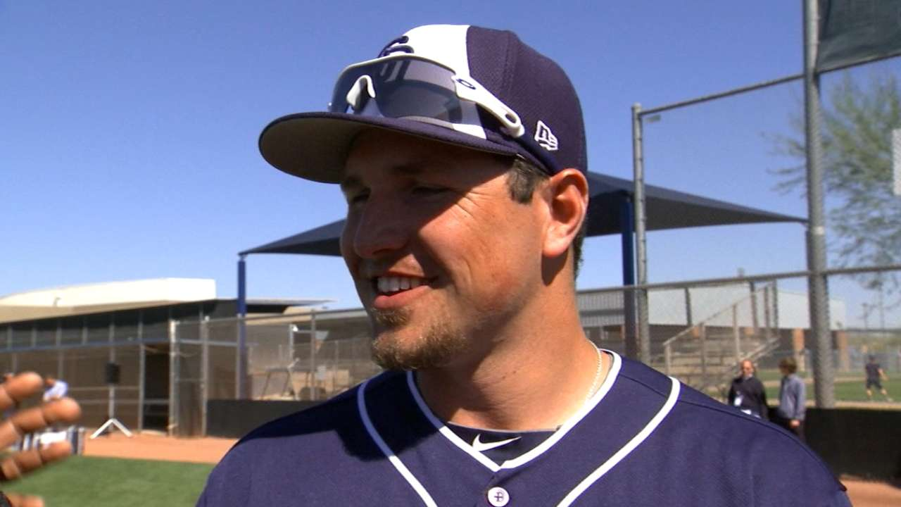 Renfroe's focus: Improving his outfield defense