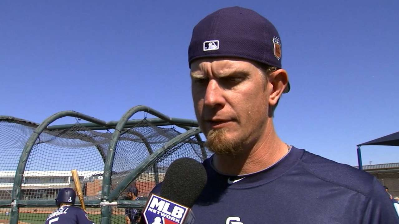 Weaver on Padres role