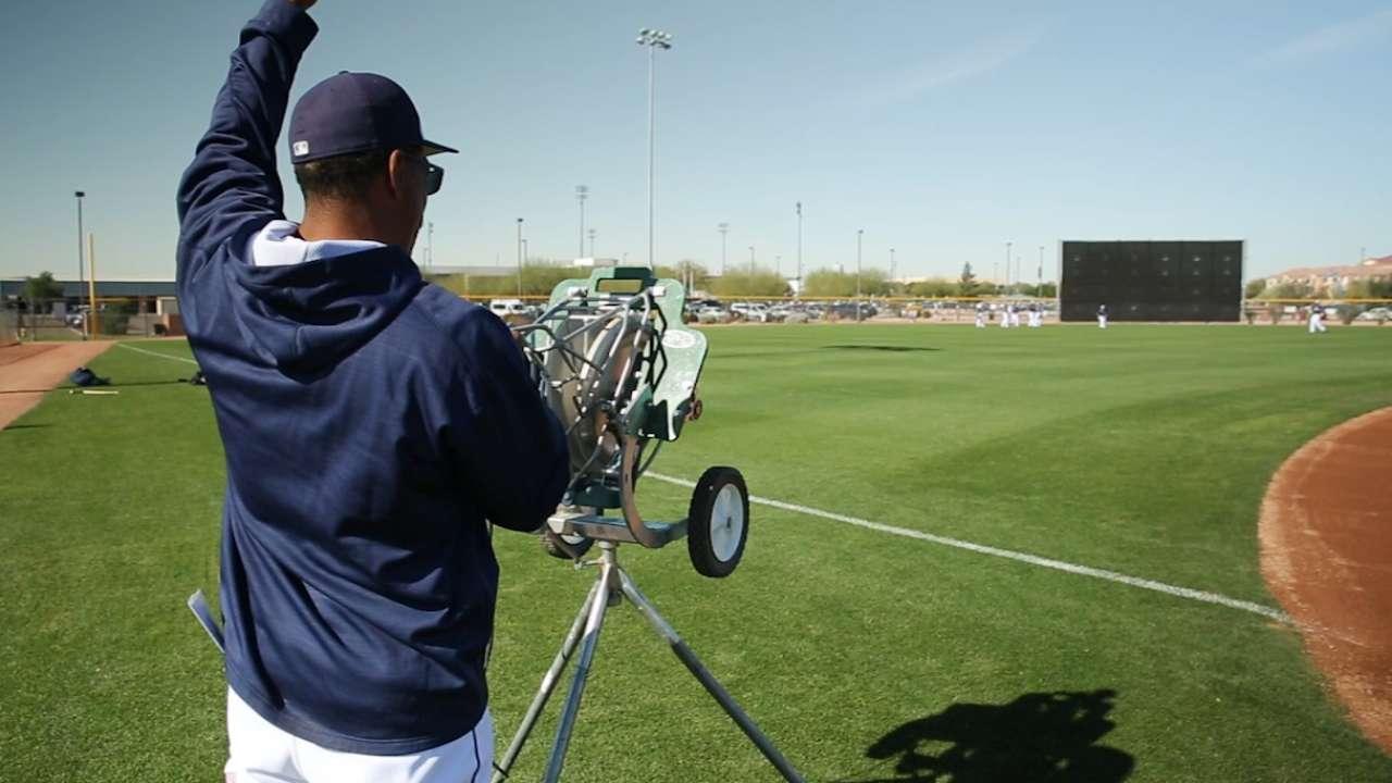 Green on team's center-field job