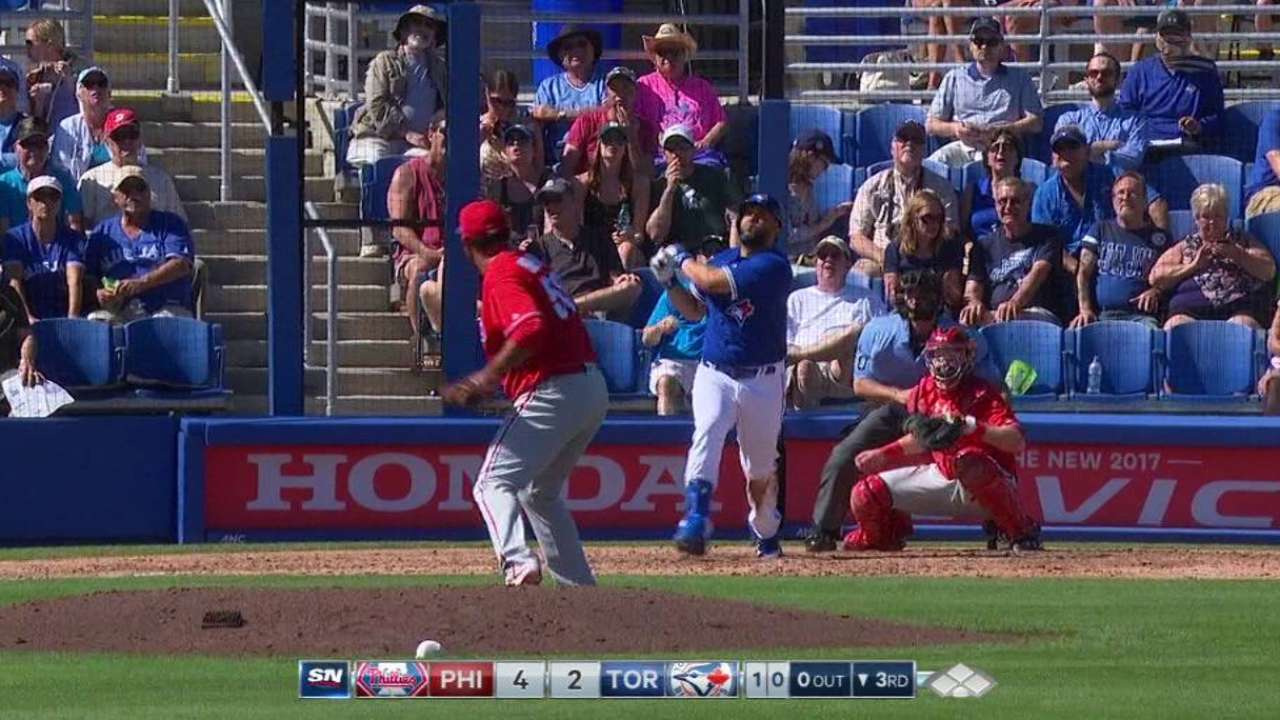 In Blue Jays debut, Morales makes impact