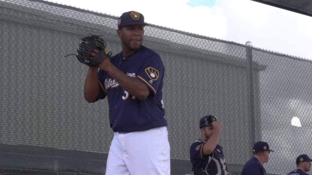 Counsell on Peralta's spring