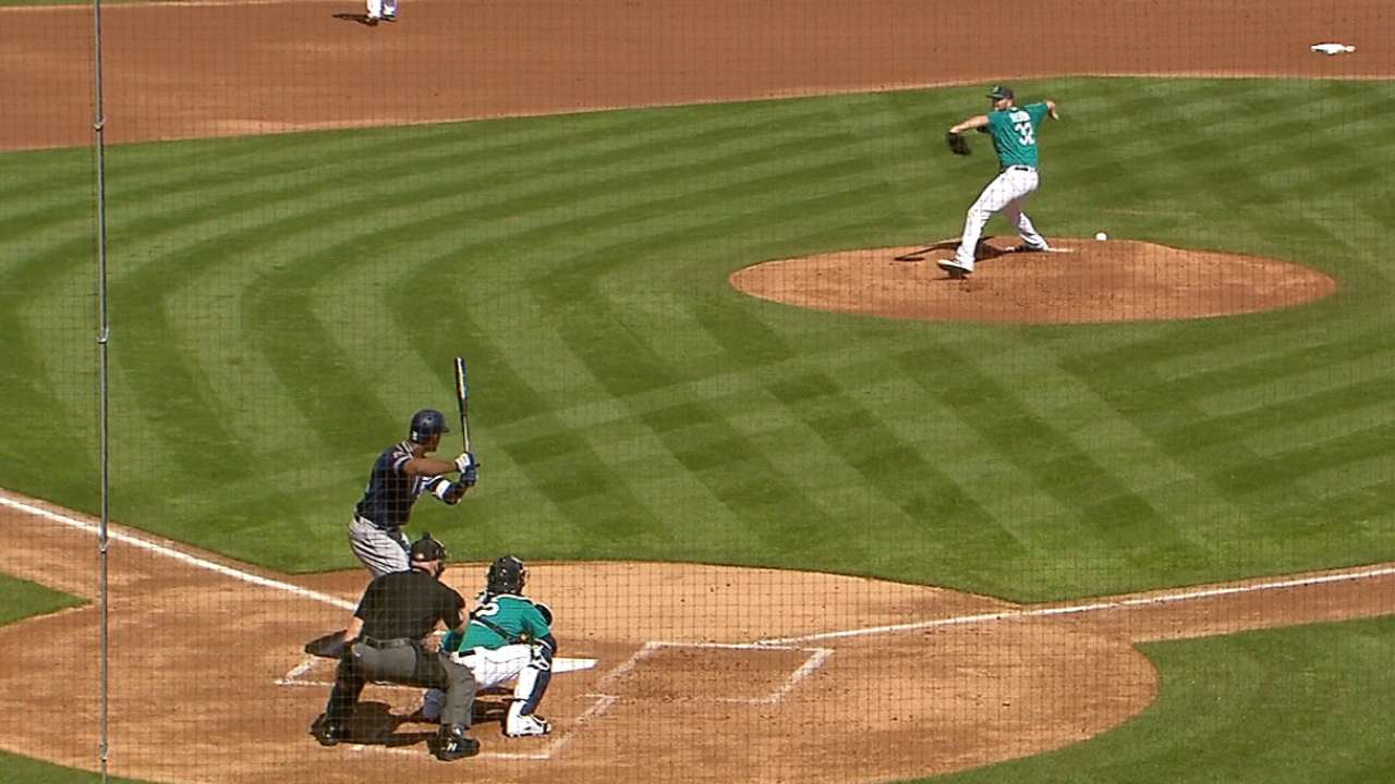 Heston induces a double play