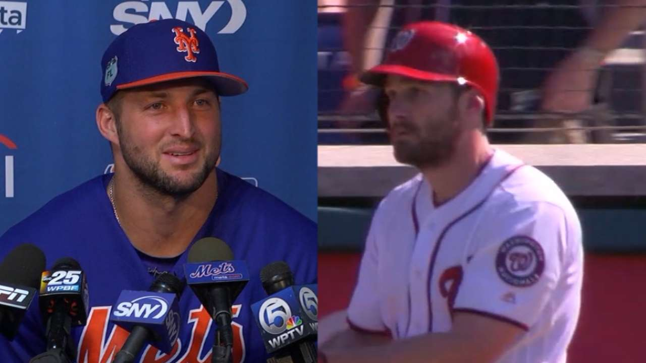 Tebow on friendship with Murphy