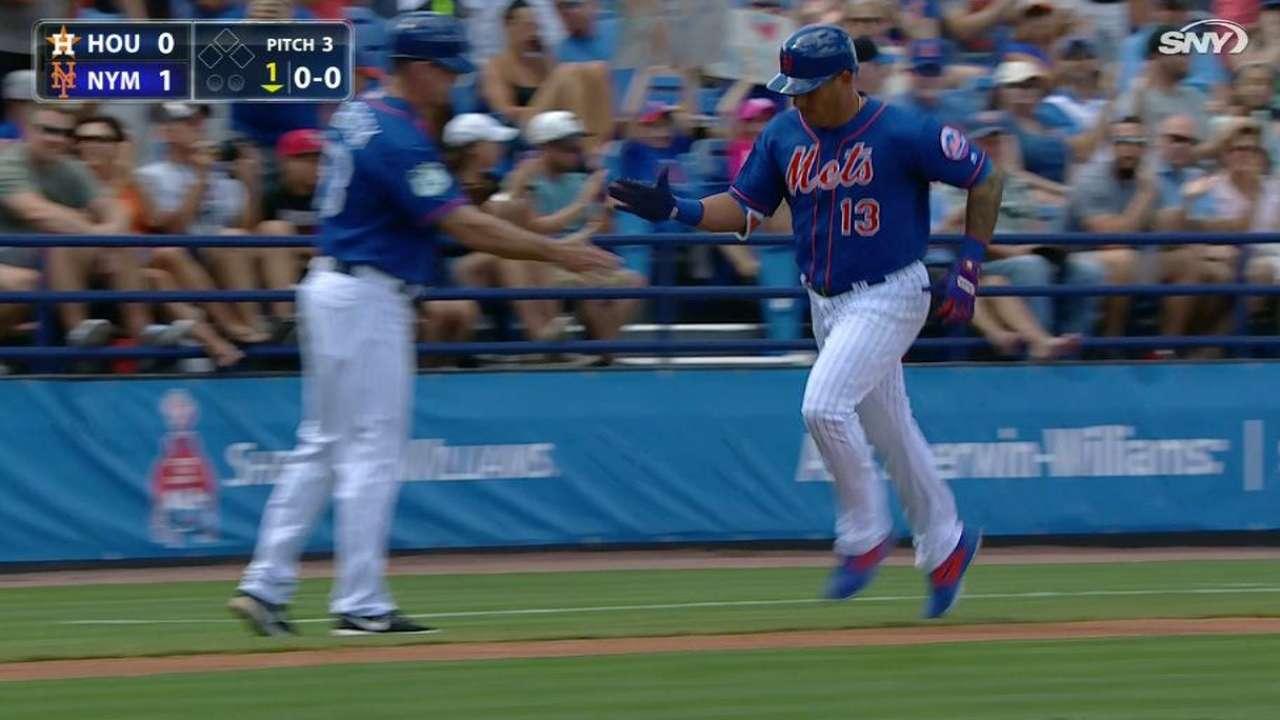 Cabrera, Flores supply power vs. Astros