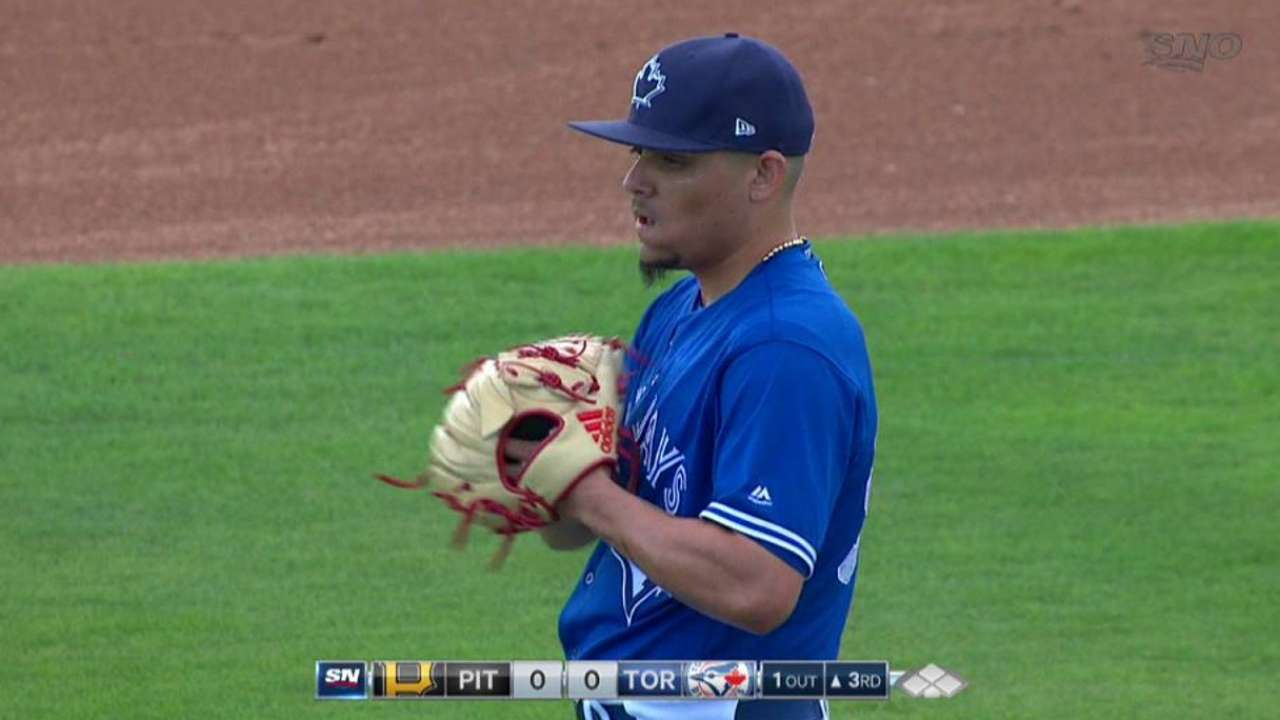 Osuna now trying to manage expectations
