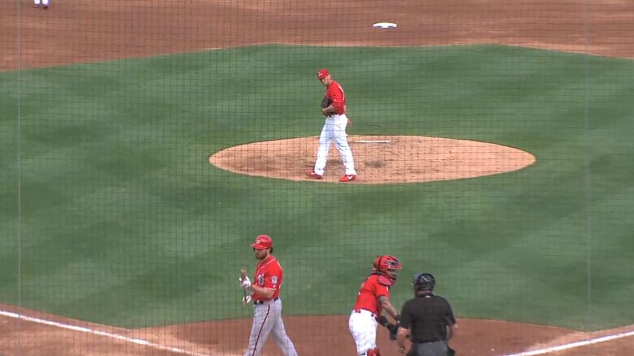 Rosenthal strikes out Murphy
